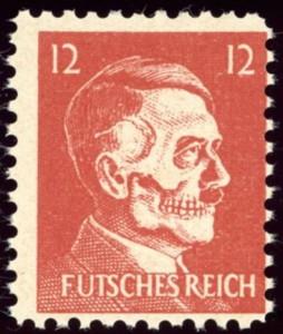 """""""Futsches Reich"""" inscription"""
