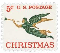US #1276 1965 Christmas Angel