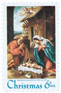 US #1414 Christmas Nativity
