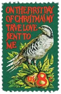 US #1445 1970 Partridge in a Pear Tree