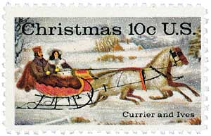US #1551 1974 Currier & Ives