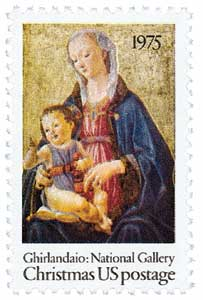 US #1579 The Madonna and Child