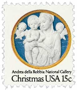 US #1768 Christmas Madonna and Child