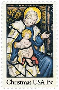 US #1842 Madonna and Child