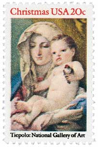 US #2026 Madonna and Child