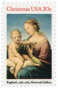 US #2063 Madonna and Child