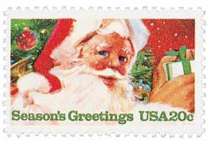 US #2064 1983 Santa Claus