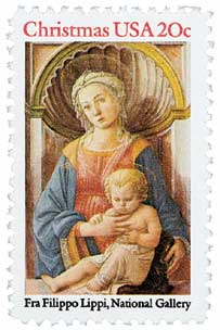 US #2107 Madonna and Child