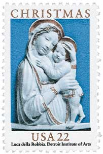 US #2165 Madonna and Child