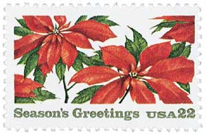 US #2166 1985 Poinsettia Plants