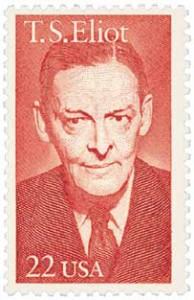 US #2239 T.S. Eliot