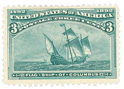 US #232 Flagship of Columbus