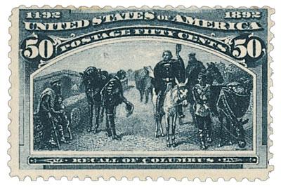 US #240 Recall of Columbus