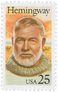 US #2418 Ernest Hemingway