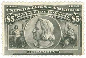 US #245 Columbus
