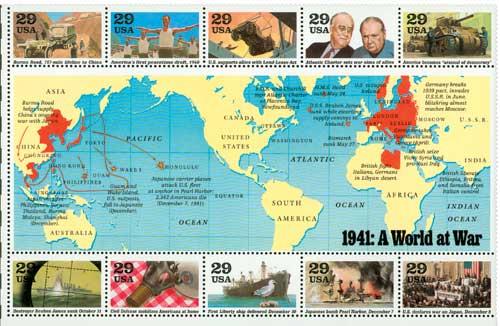 US #2559 1941: A World at War
