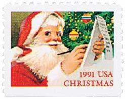 US #2582 1991 Checking His List