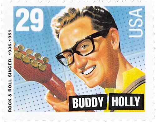 US #2729 Buddy Holly