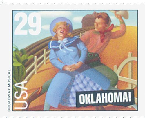 US #2769 Oklahoma!