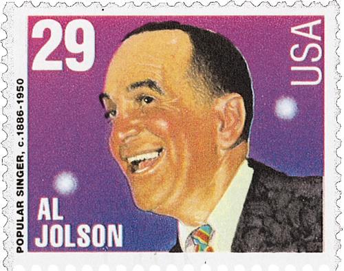 US #2849 Al Jolson