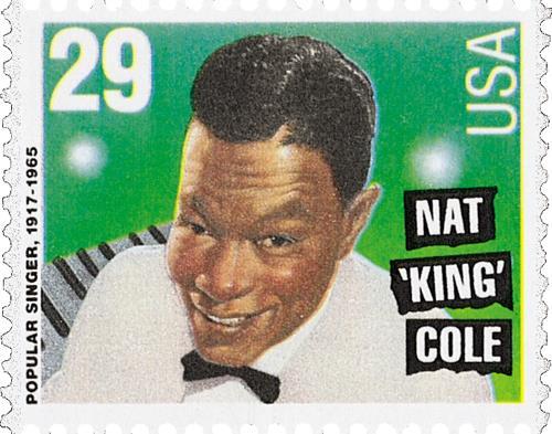 "US #2852 Nat ""King"" Cole"