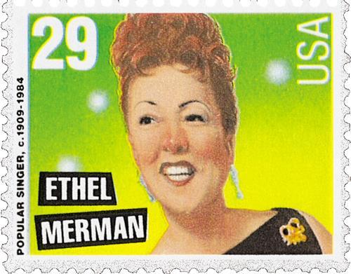 US #2853 Ethel Merman