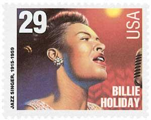 US #2856 Billie Holiday