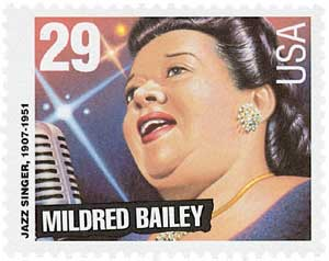 US #2860 Mildred Bailey