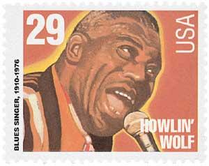 US #2861 Howlin' Wolf