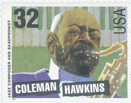 US #2983 Coleman Hawkins
