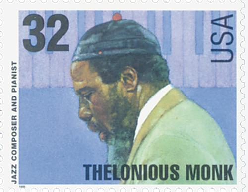 US #2990 Thelonious Monk