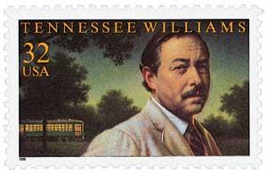 US #3002 Tennessee Williams