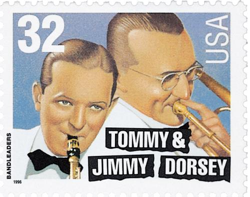 US #3097 Tommy and Jimmy Dorsey