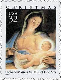 US #3107 Madonna and Child