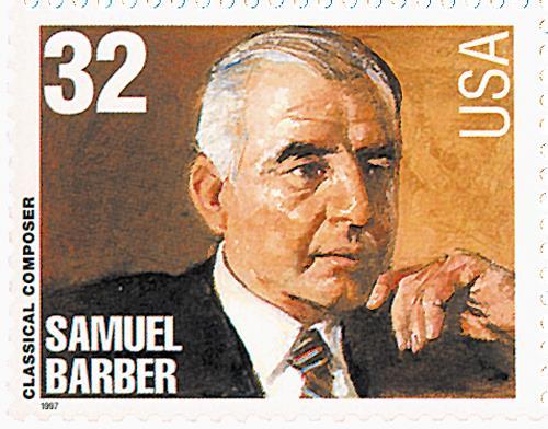 US #3162 Samuel Barber