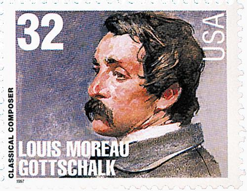 U.S. #3165 Louis Moreau Gottschalk