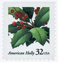 US #3177 1997 Christmas Holly