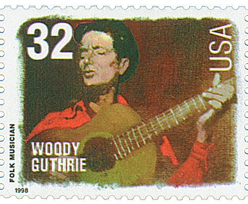 US #3213 Woody Guthrie