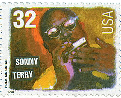 US #3214 Sonny Terry