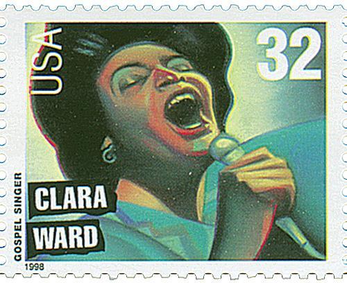 US #3218 Clara Ward