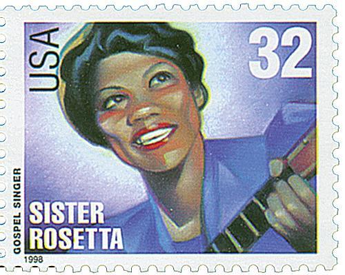 US #3219 Sister Rosetta