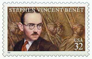 US #3221 Stephen Vincent Benet