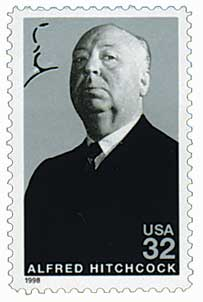 US #3226 Alfred Hitchcock