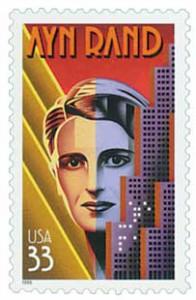US #3308 Ayn Rand