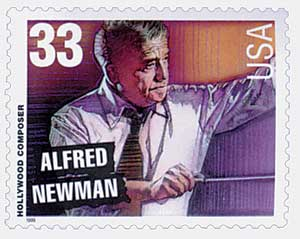 US #3343 Alfred Newman