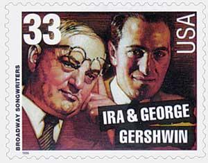 US #3345 Ira and George Gershwin