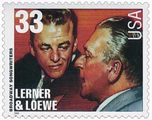 US #3346 Lerner and Loewe