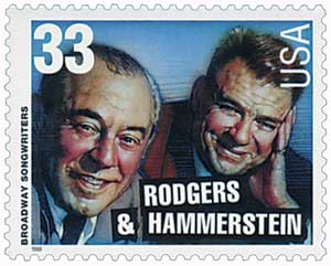 US #3348 Rodgers and Hammerstein