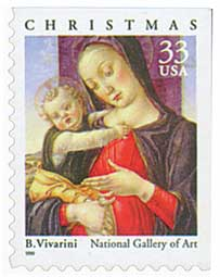 US #3355 Madonna and Child