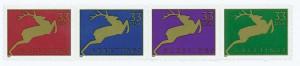 US #3356-59 1999 Jumping Reindeer